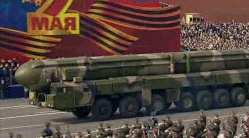 Ruská mezikontinentální balistická střela