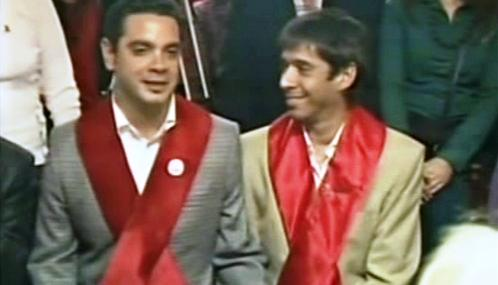 José María Di Bello a Alex Freyre
