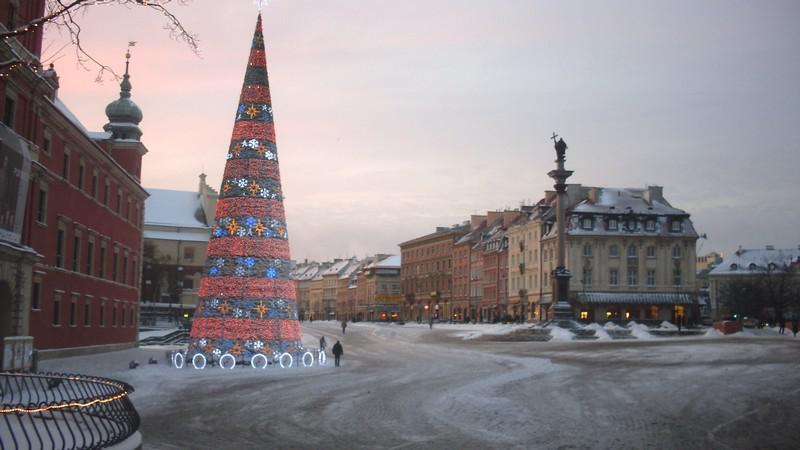 Vánoční Varšava