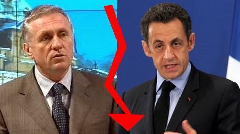 Mirek Topolánek a Nicolas Sarkozy