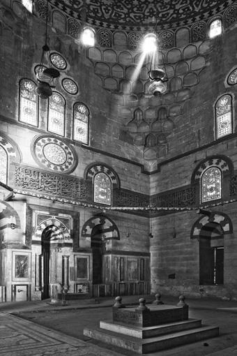 Káhira - Komplex Faradže ibn Barqúqra (1411)