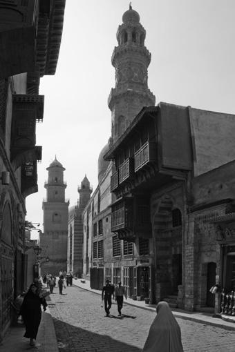 Káhira - Bajn al Qasrajn