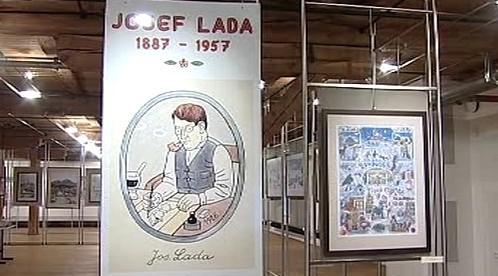 Výstava děl Josefa Lady