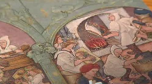 Detail kutnohorské iluminace