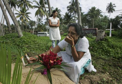 Vzpomínka na oběti ničivé tsunami