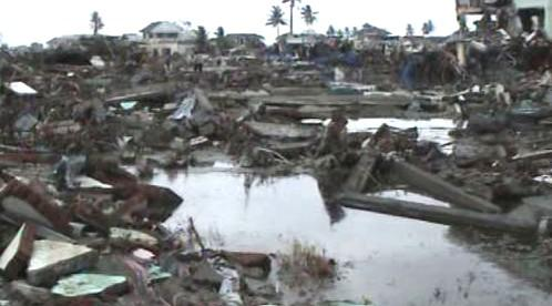 Indonésie po tsunami