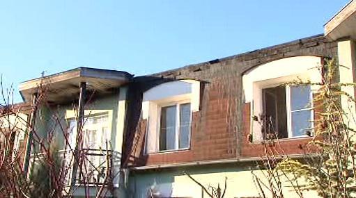 Ohořelý byt ve Vestci u Prahy