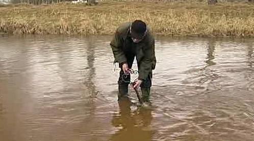Zamykání řeky