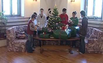 Vánoce v dětském domově