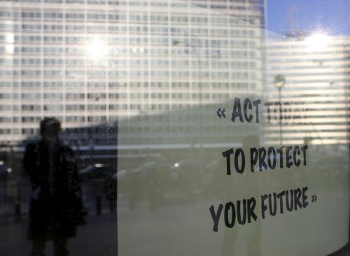 Stávka evropských úředníků