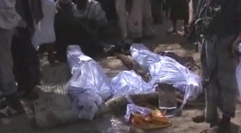 Oběti útoku v Jemenu