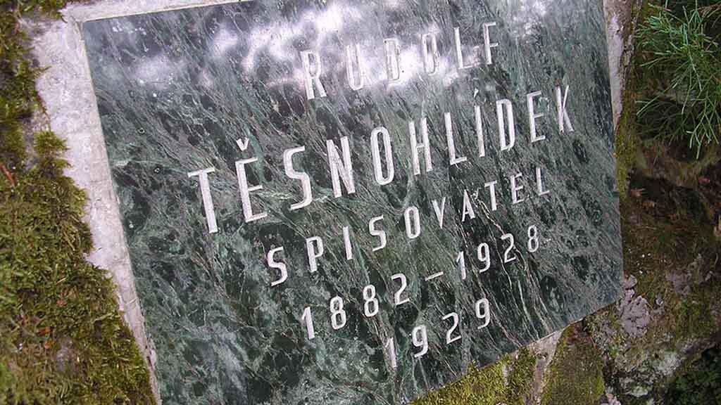 Pamětní deska Rudolfa Těsnohlídka