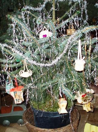 Výstava Lidové vánoční ozdoby