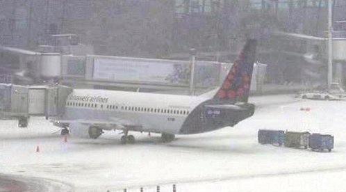 Letiště v Bruselu