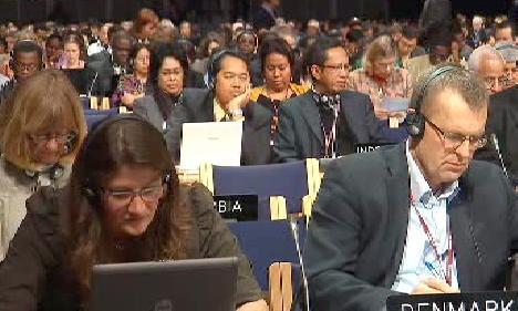Delegáti kodaňské konference