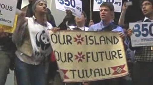 Obyvatelé Tuvalu