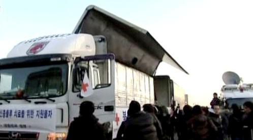 Kamion s Tamiflu do KLDR