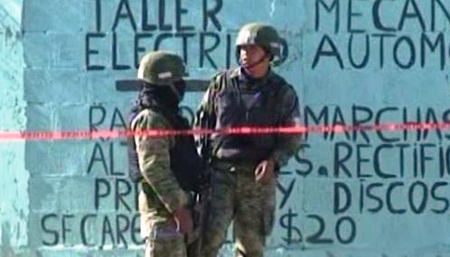 Mexické bezpečnostní složky