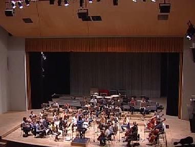 Zkouška hradecké filharmonie