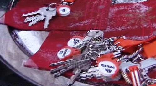 Klíče od povodňových domů