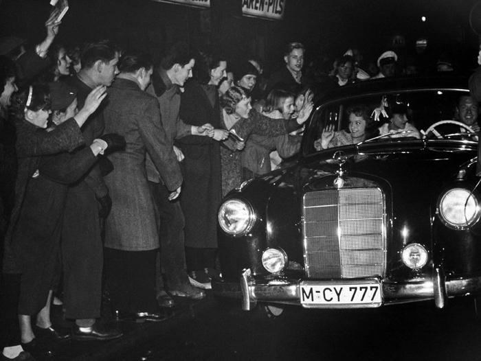 Fanoušci Romy Schneiderové (1955)
