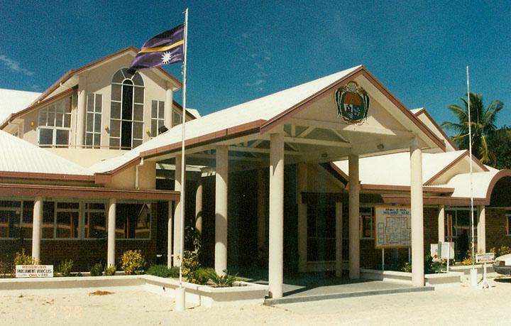 Budova parlamentu ostrova Nauru