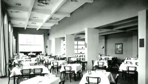 Mánes - bývalá původní restaurace
