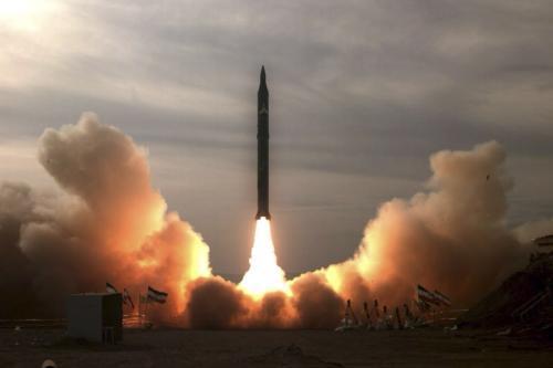 Test íránské rakety Sadžil-2
