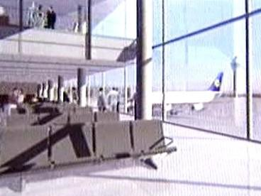 Berlínské letiště – vizualizace