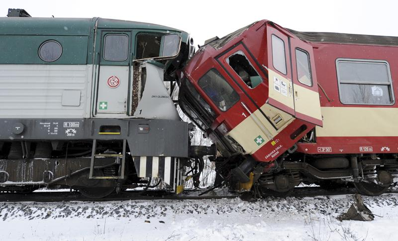 Nehoda vlaků