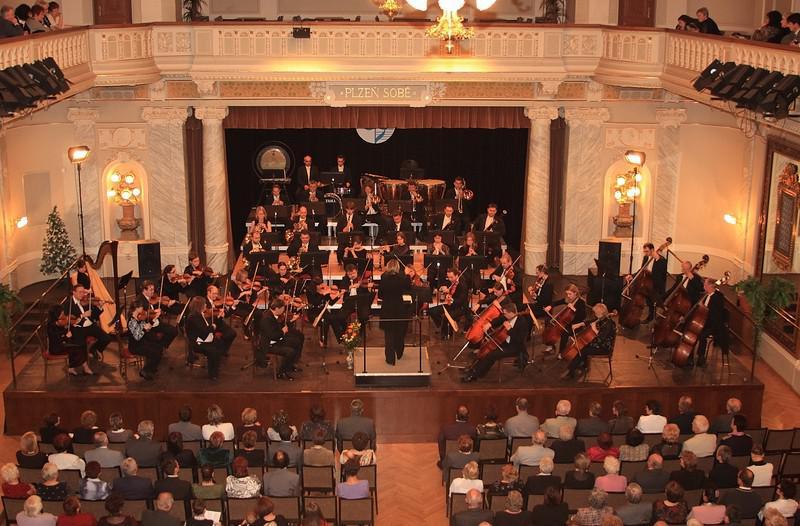 Plzeňská filharmonie v Mětanské besedě