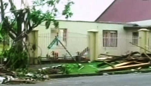 Následky cyklonu