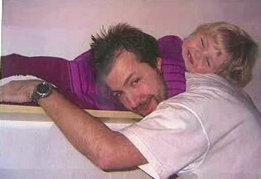 Anička se svým tatínkem