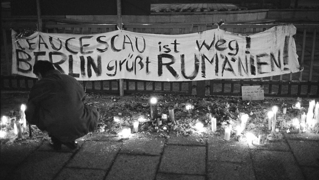 Krvavá revoluce v Rumunsku v roce 1989