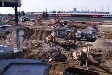Stavba vídeňského nádraží