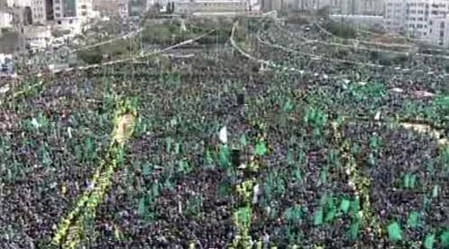 Oslavy vzniku Hamasu