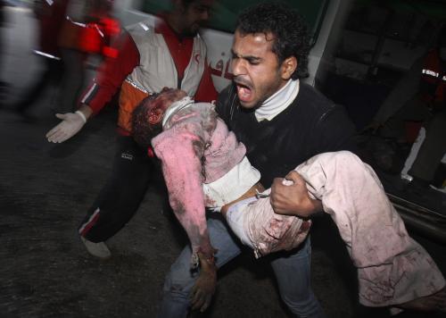 Oběti války v Gaze