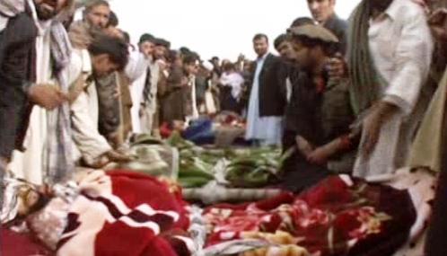 Oběti bojů v Afghánistánu