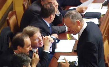 Vláda ve sněmovně