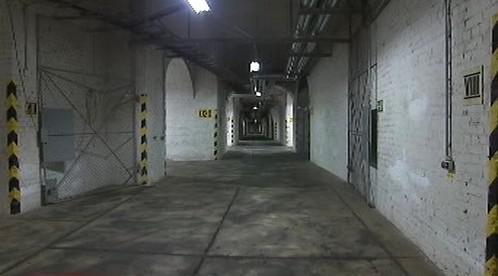 Interiér bunkru