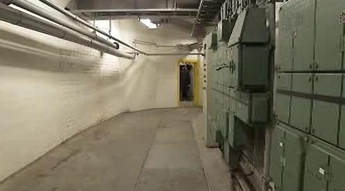 Prostory německého bunkru