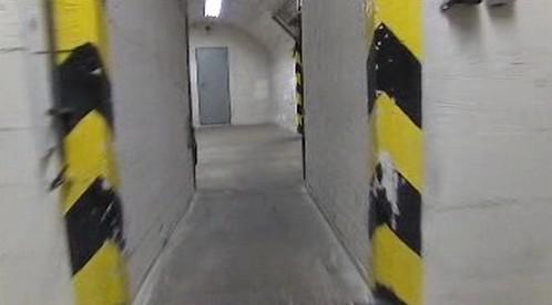 Spletité chodby draženého bunkru