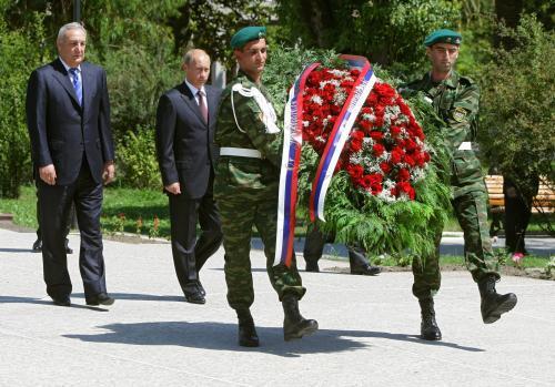 Sergej Bagapš a Vladimir Putin