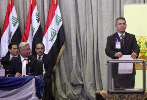 Rozdělování zakázek těžařským firmám v Iráku