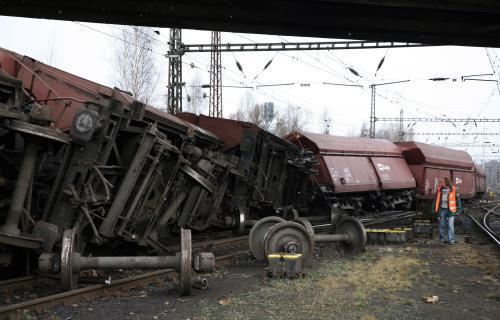 Nehoda vlaku na Sokolovsku