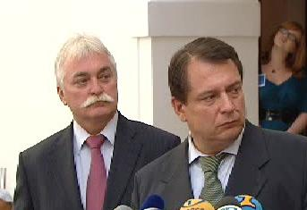 Jiří Paroubek a Milan Urban
