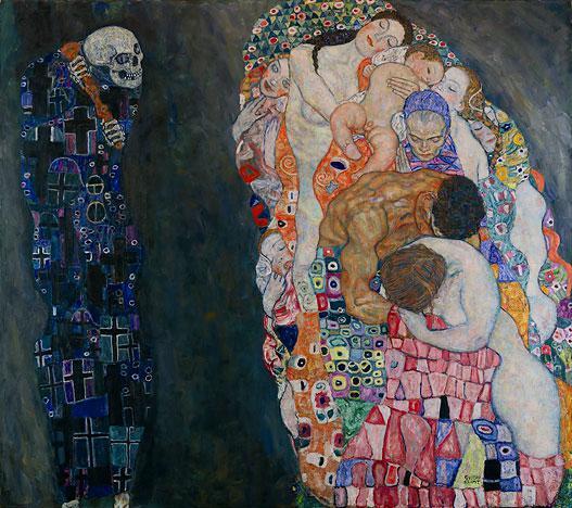 Gustav Klimt: Smrt a život (1911)