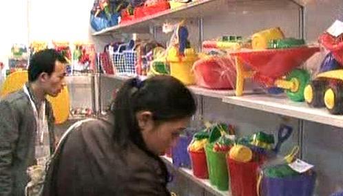 Nákup hraček v Číně
