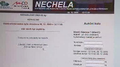 Obchodování na chemické burze Nechela