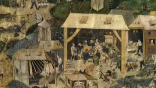 Kutnohorská iluminace - detail